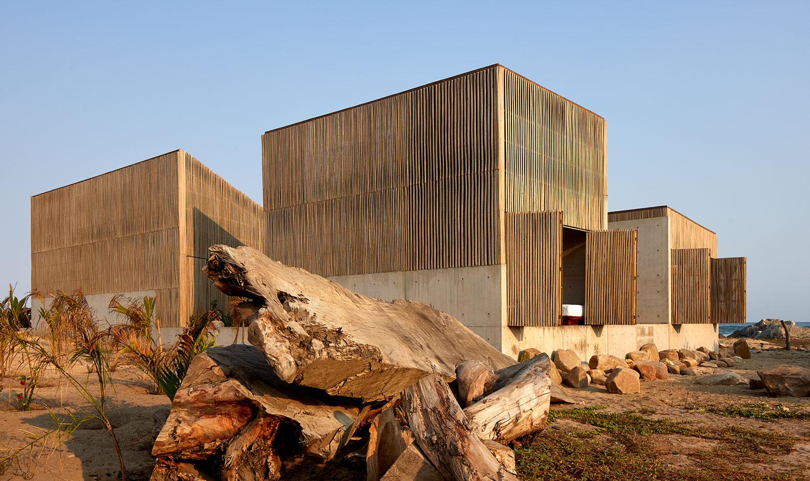 Casa Naila es una vivienda en Puertecito, a 20 kilómetros de Puerto Escondido.